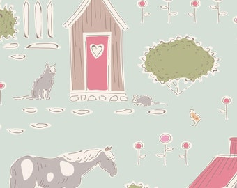 Tiny Farm Tiny Farm Mist TIL110011-V11...a Tilda Collection designed by Tone Finnanger