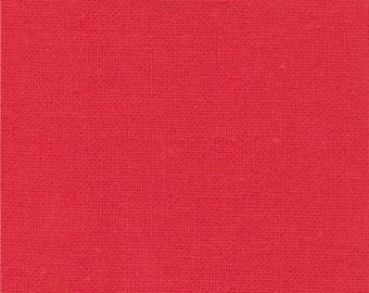Bella Solids Bettys Red 9900 123 by moda fabrics