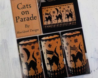 Cats on Parade by Blackbird Designs...cross-stitch design