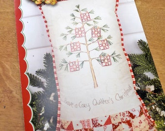 Cozy Quilter's Christmas Tree pattern by Meg Hawkey of Crabapple Hill Studio