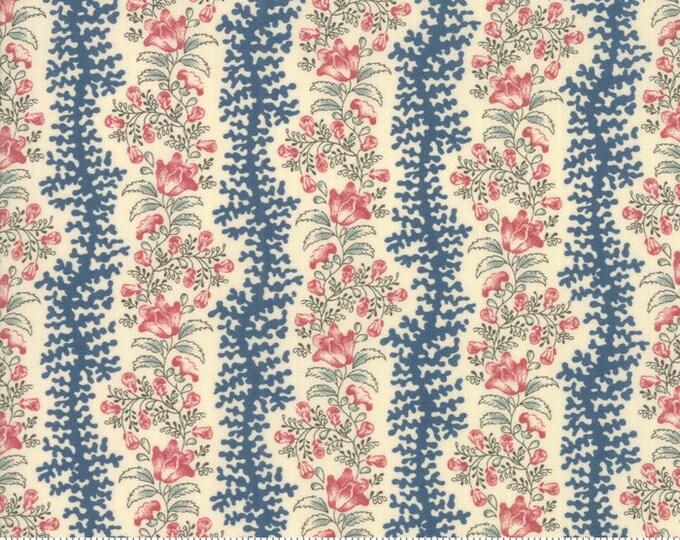Sarah's Story 1830-1850, Sweet Cream 31592 12 fabric designed by Betsy Chutchian for Moda Fabrics
