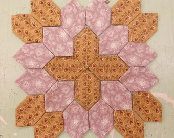 Lucy Boston Patchwork of the Crosses civil war block kit #10