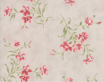 Rue 1800 44223-15 Dove floral by 3 Sisters for Moda Fabrics