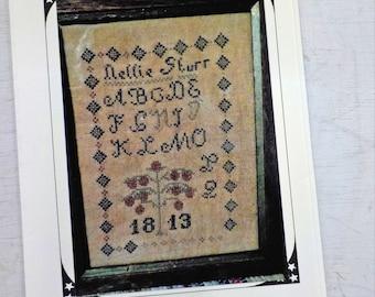 Nellie Sturr by The Pinkeep...cross stitch pattern