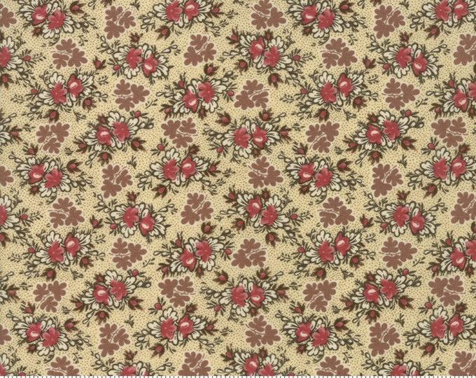 Harriet's Handwork 1820-1840 Biscuit 31577 11 by Betsy Chutchian for Moda Fabrics
