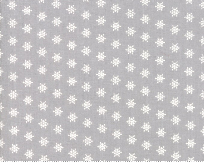 Merry Merry Snow Days Grey 2946 13 designed by Bunny Hill Designs for Moda Fabrics