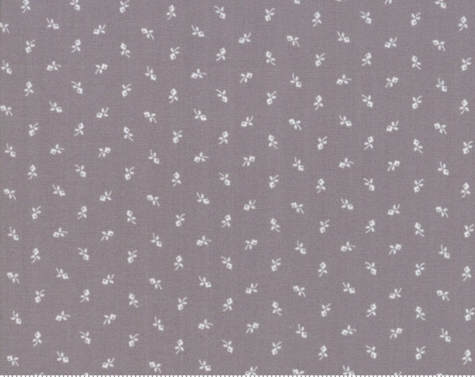 Urban Farmhouse Gatherings Ash Grey 1281 16 by Primitive Gatherings for moda fabrics