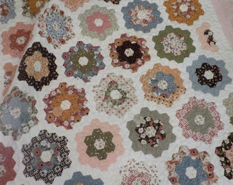 Jelly Garden quilt kit...collection options...pattern designed by April Zimmer