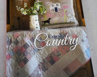 Cowslip Country Quilts by Jo Colwill for Quiltmania