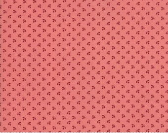 Harriet's Handwork 1820-1840 Sweet Pink 31574 18 by Betsy Chutchian for Moda Fabrics