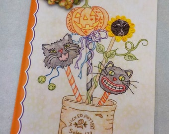 Whimsical Wands pattern by Meg Hawkey of Crabapple Hill Studio