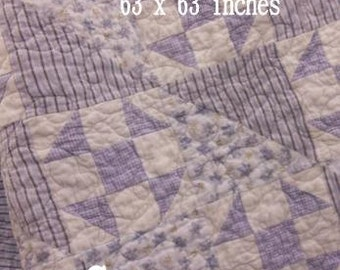 PDF Lavender Fields ...pattern designed by Mickey Zimmer for Sweetwater Cotton Shoppe