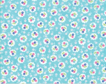 Badda Bing Turquoise 22347 14 by Me and My Sister Designs for Moda Fabrics
