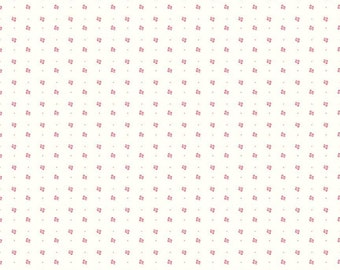 Bee Backgrounds Clover C9711-TEAROSE by Lori Holt of Bee in My Bonnet for Riley Blake Designs