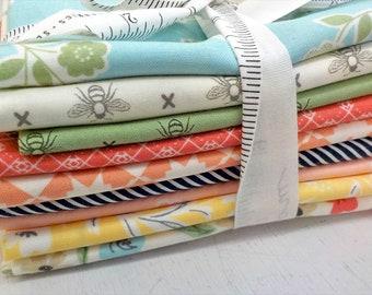 Garden Variety by Lella Boutique for Moda Fabrics...exclusive bundle of 9 prints