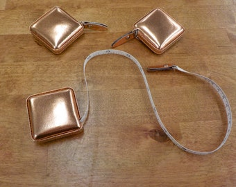Shimmery measuring tape...Rose Gold colored