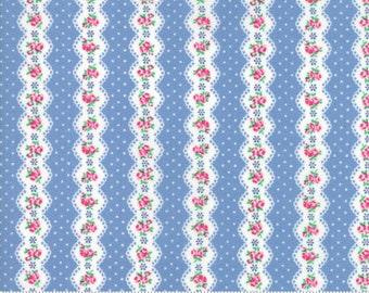 Guest Room Sky 8412 19 by Kristyne Czepuryk of Pretty by Hand for Moda Fabrics