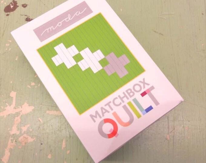 Matchbox Quilt No. 8 by moda fabrics...mini quilt kit...6 inch quilt kit