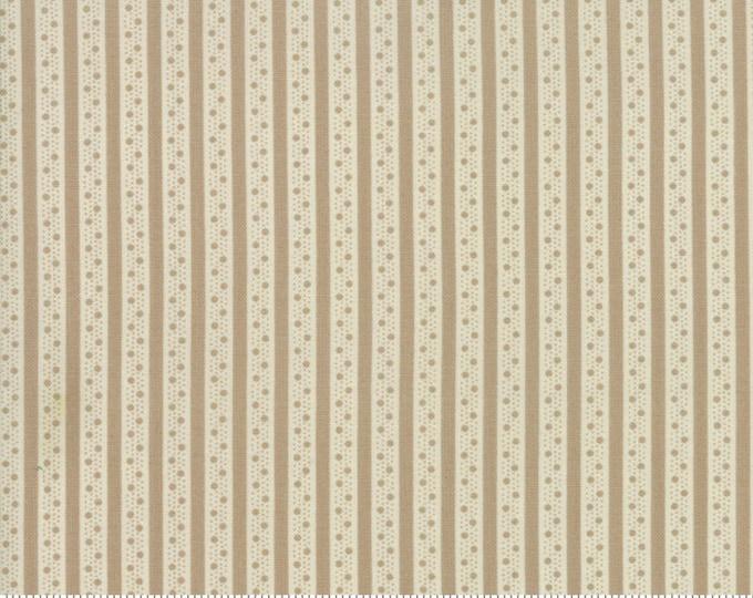 Caroline oatmeal 18656 15 by Brenda Riddle Designs for Moda Fabrics
