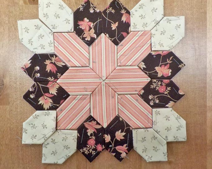 Lucy Boston Patchwork of the Crosses civil war block kit #27