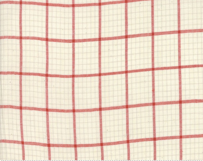 Snowberry Plaid Snow 12024 12 by 3 Sisters for moda fabrics
