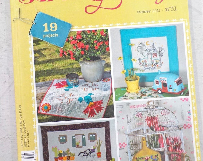 Simply Vintage by Quilt Mania summer 2019 issue