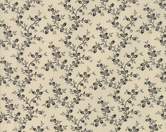 Jo's Shirtings Latte Charcoal 38044 21 by Jo Morton for moda fabrics