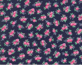 Guest Room Midnight 8411 19 by Kristyne Czepuryk of Pretty by Hand for Moda Fabrics