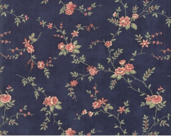 Memoirs Indigo 44213 18 by 3 Sisters for Moda Fabrics