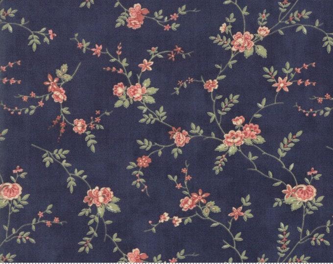 Memoirs Indigo 44213 18 by 3 Sisters for Moda Fabrics
