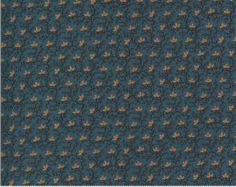 Yesterday Medium Blue 38103 18...designed by Jo Morton for Moda Fabrics