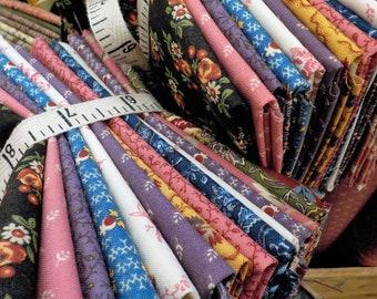 Nancy's Needle 1850-1880...14 fat quarter bundle by Betsy Chutchian for Moda Fabrics...exclusive bundle, 14 fat quarters