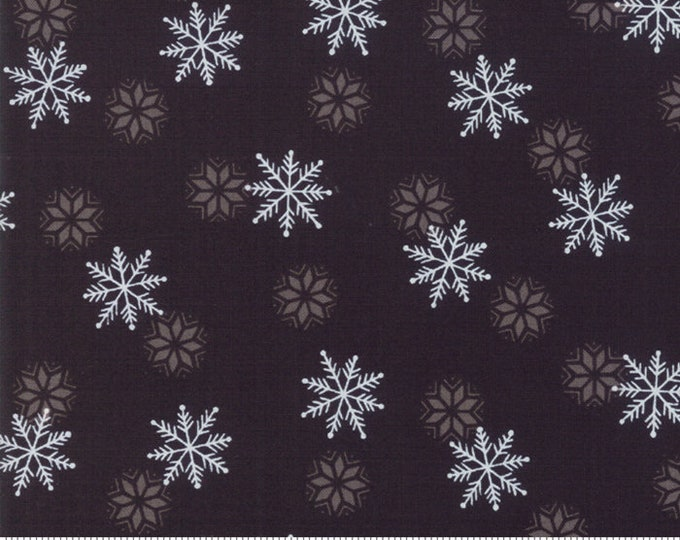 Holiday Lodge Charcoal 19896 12 designed by Deb Strain for Moda Fabrics