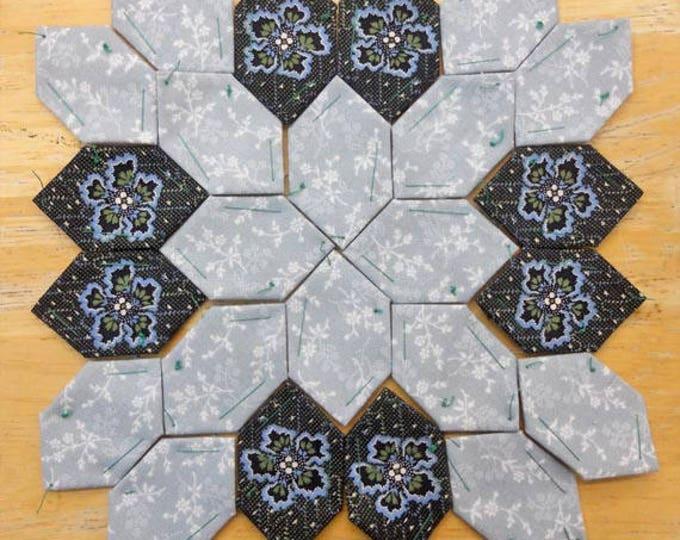 Lucy Boston Patchwork of the Crosses civil war block kit #6