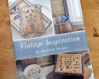 Vintage Inspiration by Blackbird Designs...cross-stitch design booklet