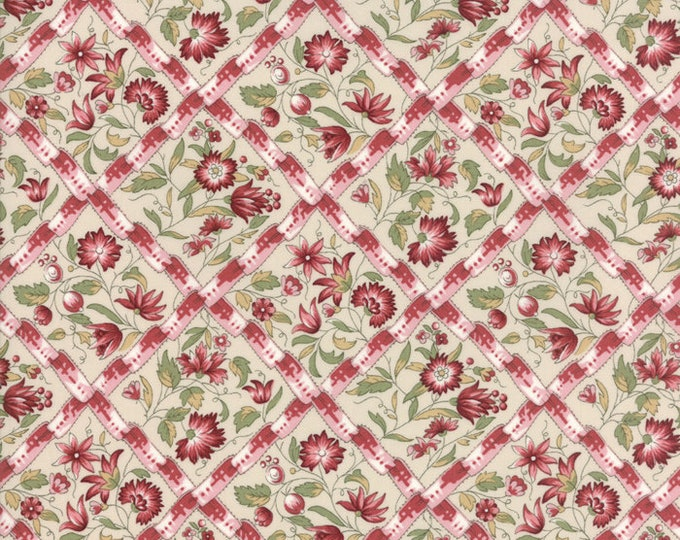 Jardin de Versailles Pearl Rose 13812 12 by French General for moda fabrics