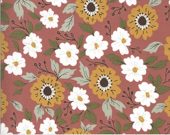 Folktale Forest Path Posie 5120 13 by Lella Boutique for Moda Fabrics