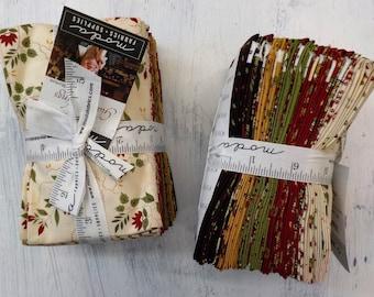 Glad Tidings...23 fat 8th bundle by Jo Morton for Moda Fabrics