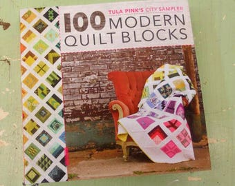 Tula Pink's City Sampler...100 Modern Quilt Blocks...by Tula Pink