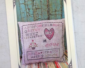 My Heart - Sophia Straton by The Pinkeep...cross stitch pattern