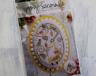 Spring Serenade by Brenda Gervais of With Thy Needle & Thread...cross-stitch design