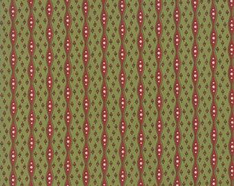 Glad Tidings Poison Green 38092 12 by Jo Morton for Moda Fabrics