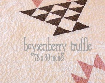 PDF boysenberry truffle pattern by Mickey Zimmer for Sweetwater Cotton Shoppe