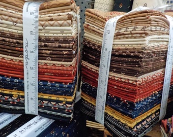 Shelbyville fat quarter tower...40 fat quarters...designed by Jo Morton for Moda Fabrics
