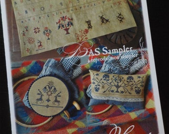 BAS Sampler, a reproductions sampler by Summer House Stitche Workes