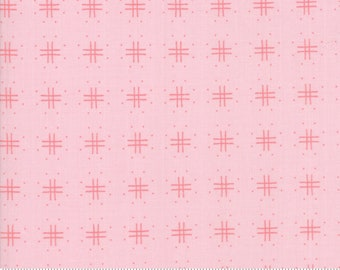 Lollipop Garden Pinkberry 5083 12 by Lella Boutique for Moda Fabrics