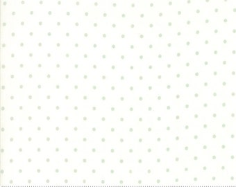 Rue 1800 44228-21 Porcelain dot by 3 Sisters for Moda Fabrics