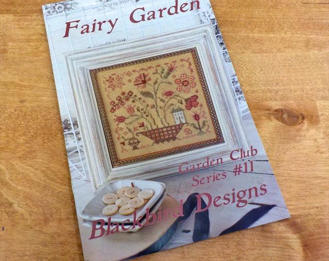 Fairy Garden, Garden Club Series #11, by Blackbird Designs...cross-stitch design