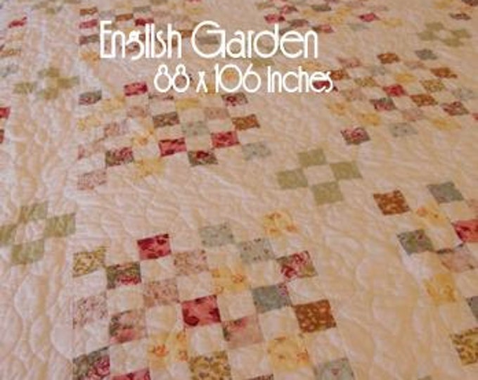PDF English Garden pattern by Mickey Zimmer for Sweetwater Cotton Shoppe