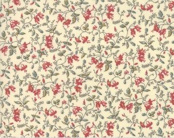 Sarah's Story 1830-1850, Sweet Cream 31591 11 fabric designed by Betsy Chutchian for Moda Fabrics